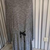 Сіре меланжеве плаття Tu, р 20 (Пог -58-80)