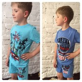 Супер ціна 7 кольорів Супер на літо 100% натуральні костюми для хлопчиків Якість