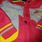 ❣️Скидка УП!!! Супер!!Двухсторонняя осенняя куртка (2 куртки в одной) на мальчишку на рост 110-116❣️