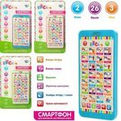 Смартфон детский на украинском языке для обучения англ. языка Limo Toy - Интерактивный