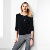 ☘ Трикотажна джерсі кофта-блуза, Tchibo (Німеччина), розміри наші: 46-50 (40/42 євро)