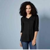 Бомбезна вискозная удлиненная блуза Esmara  М evro 40+6
