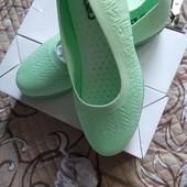 Женские текстильные туфельки