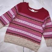 Стоп ❤ Фирменный мягкий свитерок для девочки,+-2 года❤ Много лотов!