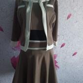 Шикарный костюм двойка платье + пиджак