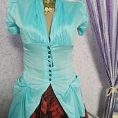 Блузка нежно голуба-цена шара!