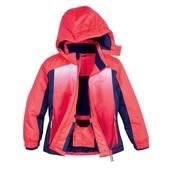 Зимняя (лыжная) куртка для девочки Crivit 122-128, реал фото внутри