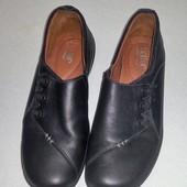 Туфли, 100% натуральная кожа! Размер 40 (26 см стелька)
