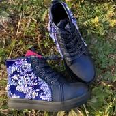 Демисезонные ботинки р27,28 для девочки, хит!!!