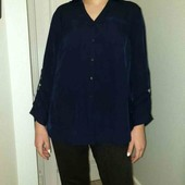 Рубашка блузка стильная Германия пог 58см