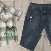 Джинсы +рубашка на 10-12 лет