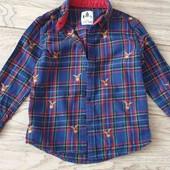 Рубашка баевая от George 2-3года,рост 98