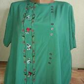 Женская блуза. Нюанс.Размер 56