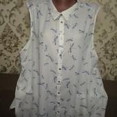 Блуза в стрекозы р.22 в отличном состоянии