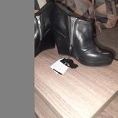 Новые ботинки деми 36размер, кожа