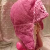 мягусенькая шапочка демисезон