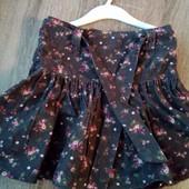 Стоп!! Фирменная удобная яркая натуральная красивая стильная вельветовая юбка от palomino