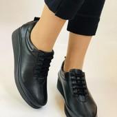 Туфли натуральная кожа Alvito