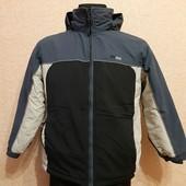 Термо Куртка,Деми,внутри флис,на 12 лет 152 см,Состояние Отличное!