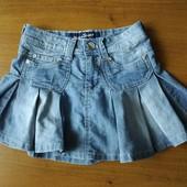 Много лотов от 10 грн. Джинсовая юбка на девочку.