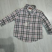 Красивая рубашка 12-18мес.