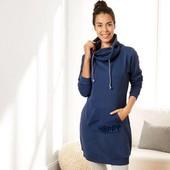 Esmara Германия Теплая удлиненная толстовка-платье с начесом 36/38р евро