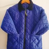 Стёганая курточка на мальчика. Осень. Р. 128