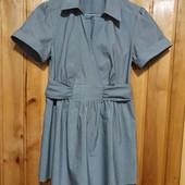 Красивая блузочка в полосочку на запах в составе хлопок (можно для беременных)
