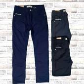 Котоновые брюки на флисе Glass Bear 158, р