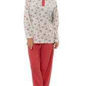 Теплая пижама на байке, 100 % хлопок, л-ххлр
