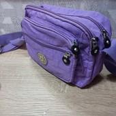 Новая спортивная сумочка через плечо Размер 23х 15х 6,5 см