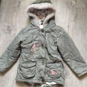 Деми куртка парка George на 3-4 года