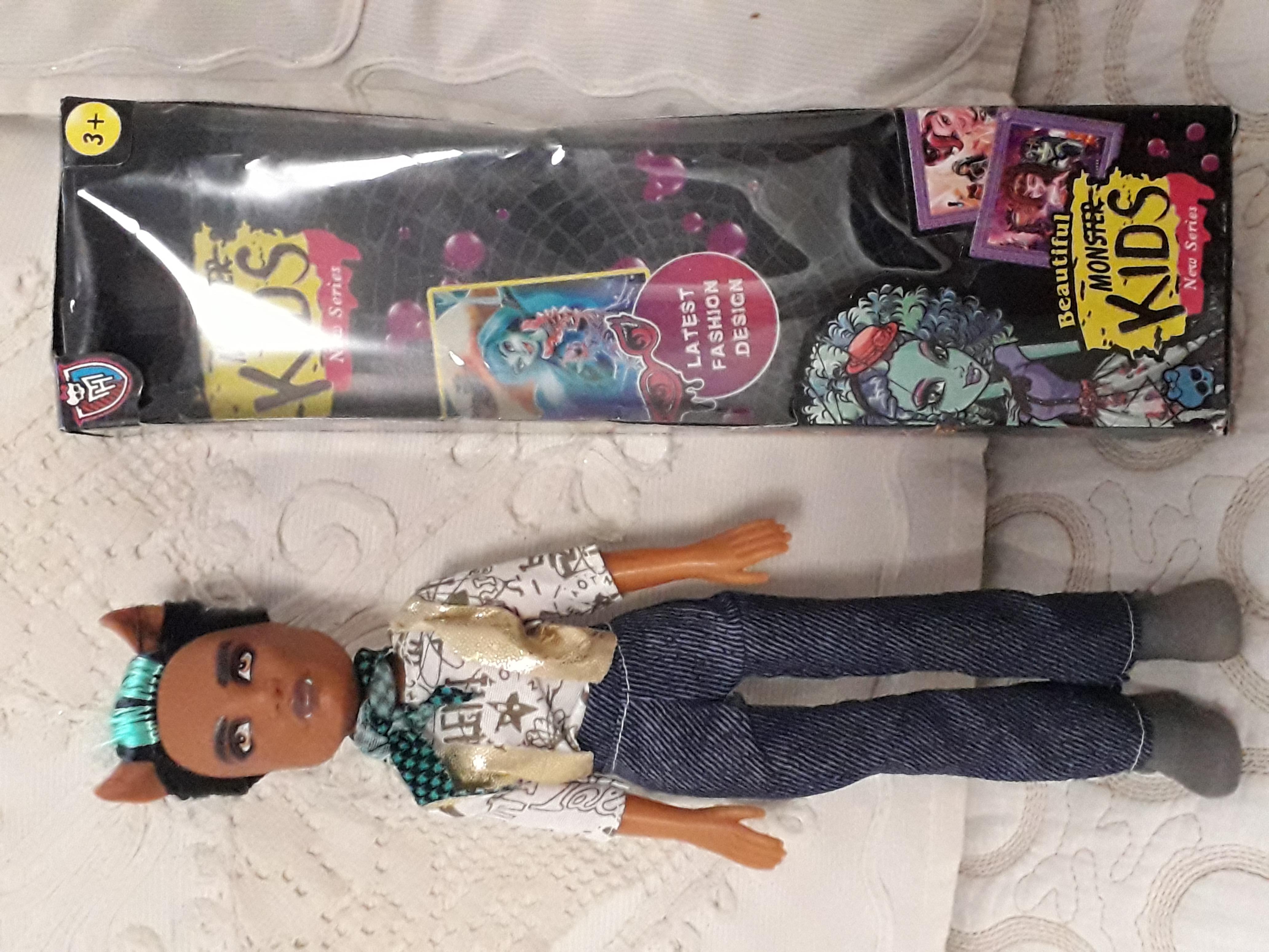 Кукла Monster Kids 25 см новая