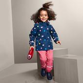 ☘ Красива якісна куртка-дощовик на мікрофлісовій основі, ecorepel®, Tchibo (Німеччина), рр.:86/92