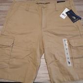 Сша! Us polo assn! Мужские шорты размер w34 xl Оригинал