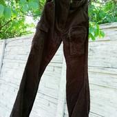 ❤️☀❤️Классные стильные штаны вельветовые. Состояние идеальное, новой вещи. Много карманов.