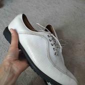 Кожаные мужские туфли оксфорды Foot Joy Icon