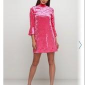 ❣Monki велюровый платье