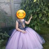 Качественное, дорогое детское платье