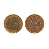 Монета 1 Евро (Франция, 2000 год, монеты, монети, одно евро)