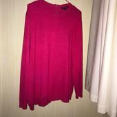 Ніжний светр розмір 18. Тканина: 80% віскоза, 20% нейлон