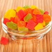 Цукаты Сушеные фрукты кусочки фруктов(манго, киви, апельсин, и др.) 300 грамм Тайланд