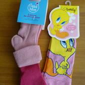 4 пары! Носочки Disney (Италия, Франция), размер 24/26, 23/26 (2-4 года)