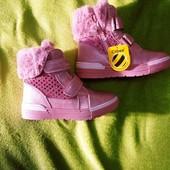 Зимние розовые сапожки Clibee 28,