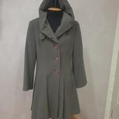 Красивое пальто тм Елтекс из мягкого и теплого кашемира,размер 48-52 в отличном сотоянии,есть замеры