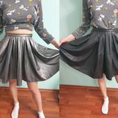 Шикарные новые юбки солнце клеш из мягкой качественной эко кожи, одна на выбор, р. S-+, есть замеры