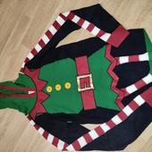 Next S свитер туника в виде Эльфа новогоднего