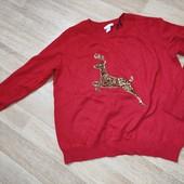 H&M M свитерок с альпакой