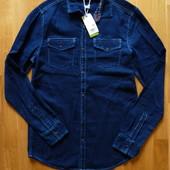 Рубашка джинсовая OVS kids Италия, размер 170 см, 14+ лет.