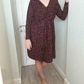 Платье в тигровый принт от C&A пог 59см